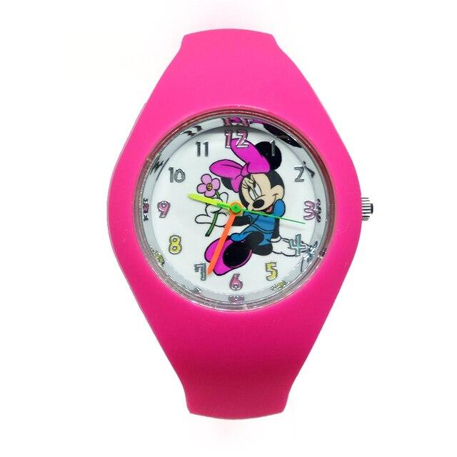 d676d781f15 Mickey   Minnie Mouse crianças dos desenhos animados assista mulheres relógios  crianças quartz relógio de pulso