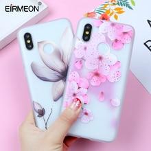 EIRMEON Relief Flowers Case For Xiaomi Redmi 4X 4A Note 5A 6 Pro S2 Cases  8 SE 5X Mi A1TPU Soft Cover