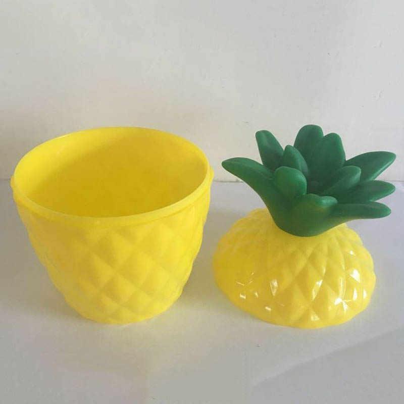 Новый фруктовый ананас полипропиленовый стакан бутылка с соломинкой Гавайские вечерние Декор бассейна доставка