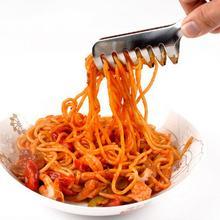 Нержавеющая сталь паста клип Зажим инструменты для приготовления пищи Кухонные Щипцы для барбекю буфет вечерние питание