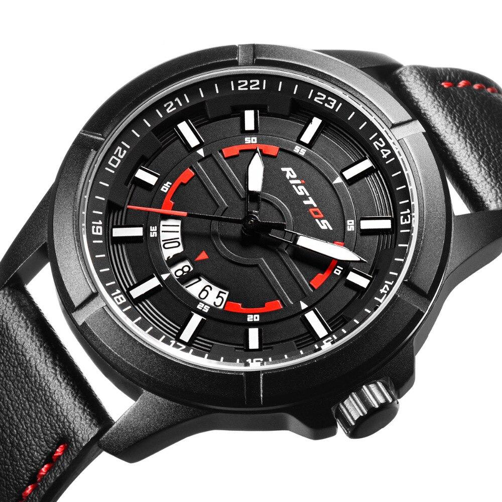 901feb2e7cd Relógios de Pulso Homens Genebra Wacth Sports à Prova d  Água Data  Cronógrafo de Quartzo Relógio Militar Hora Masculino 9348 ...