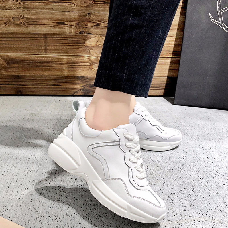 aa0a661eed1 Generation Hair Ins Exceed Fire Real 2018 New Pattern Sneakers Platform  Woman Street Time Dad Shoes Tide-in Women s Vulcanize Shoes from Shoes on  ...