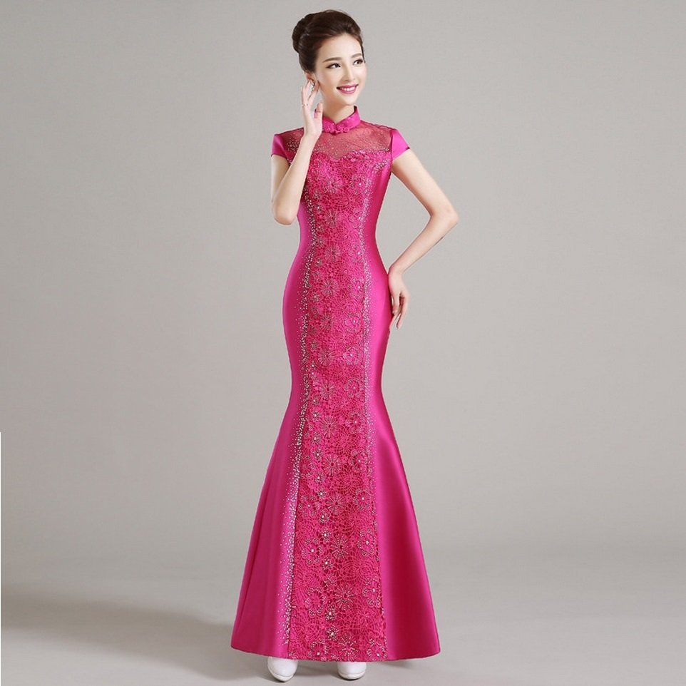 Popular Chinese Long Dresses-Buy Cheap Chinese Long Dresses lots ...