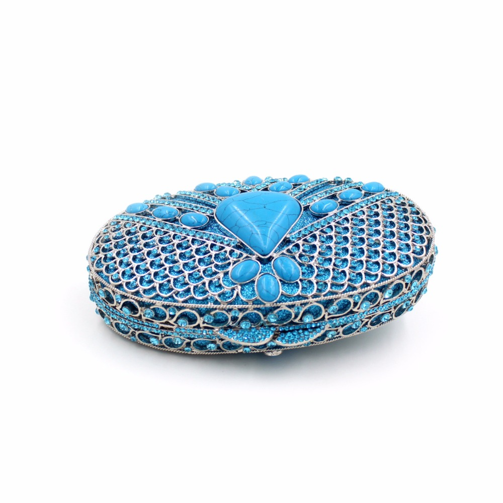 Black Mariage À Luxe Main Parti Embrayage Cristal Bourse Diamante De Coloré Sacs Dîner Femmes Bl032 Pierre Red Soirée blue Gemme En A5wUCTnnq