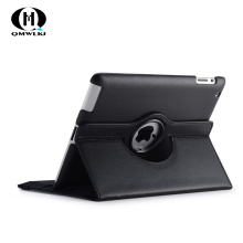 For iPad 2017 / 2018 9.7 inch Case 360° Rotating Flip PU Leather Case Cover For iPad Stand Cases Smart Tablet Cover Sleep Wake цена в Москве и Питере