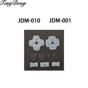 Image 3 - 100 Set voor Sony Playstation 4 PS4 Controller Geleidende Siliconen Rubber Pads voor Dualshock 4 Knoppen Reparatie Vervanging Deel