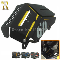 Yellow Motorbike Radiator Side Grille Guard Cover Protector For Yamaha MT09 FZ09 2014 2016 MT 09