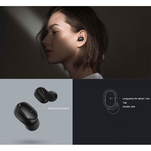 Image 4 - Xiaomi Redmi Airdots TWS Bluetooth Wireless Earphone Stereo bass Airdots 5.0 Eeadphones With Mic Handsfree Earbuds AI Control