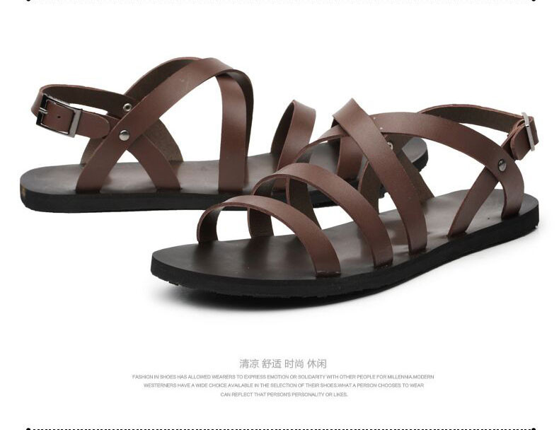 4c2d51aa407 ... y3 male sandals slippers shoes breathable casual men leather beach  sandals flat fashion sandalsUSD 47.99 pair. 3. 5. 6. 7. 8. 9. 10