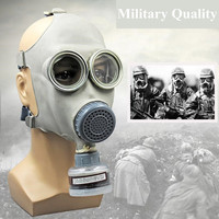 High Quality Full Face Gas Mask Activated Carbon Respirator Anti Gas Anti Dust Mask Set Anti