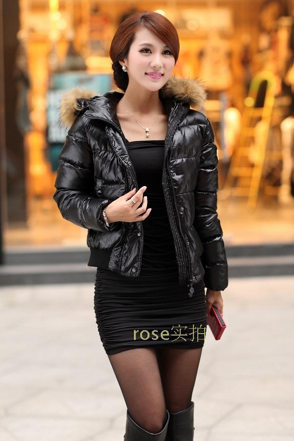 Aliexpress.com : Buy Short style Winter Women's Coat Fashion Large ...
