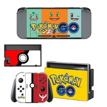 Nintendo Switch Vinyl Skins Sticker For Nintendo Switch Console and Controller Skin Set – For Pokemon GO Pikachu