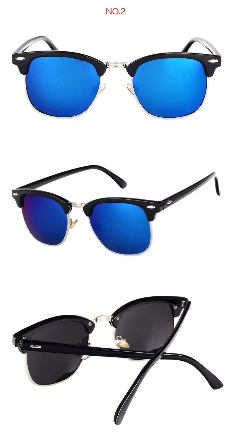 HTB1GIdlX3fN8KJjSZFIq6A0UFXag - YOOSKE Classic Polarized Sunglasses Men Women Retro Brand Designer High Quality Sun Glasses Female Male Fashion Mirror Sunglass