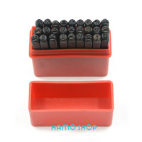 4mm Craft Die Letter From A To Z Steel Stamp Punch Alphabet Jewelers Set Choice 27pcs