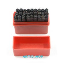 4mm craft Die Letter from A to Z Steel Stamp Punch  Alphabet Jewelers Set Choice 27pcs/set free shipping 3 8 10mm letter steel stamp die punch set a z 27 pcs part codes