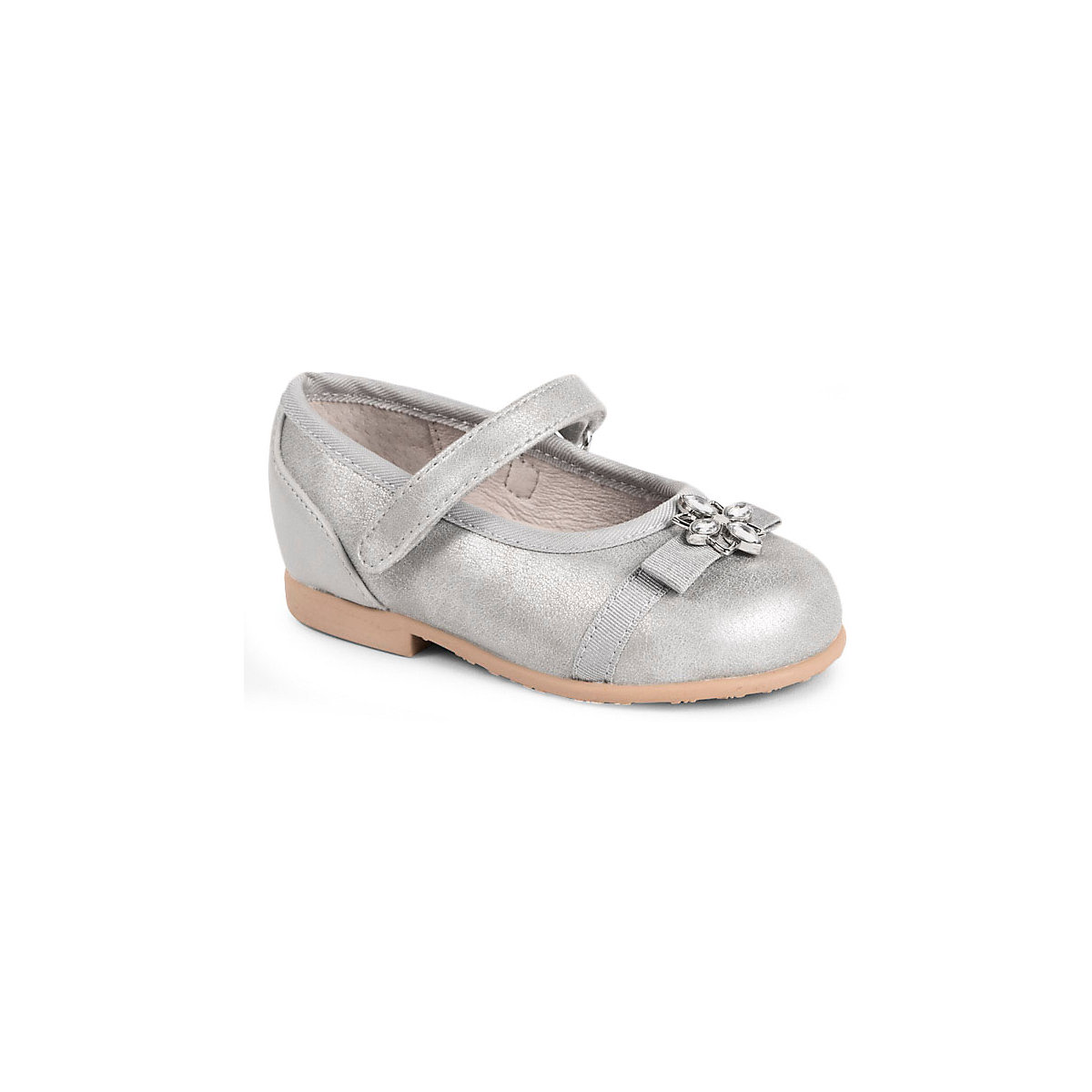 MAYORAL Children's Flats 10642691 silver summer ballet all-season elegant footwear Shoes for girls girl