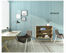 лучшая цена beibehang Plain color simple modern warm living room bedroom vertical stripes nonwoven environmental protection wallpaper behang