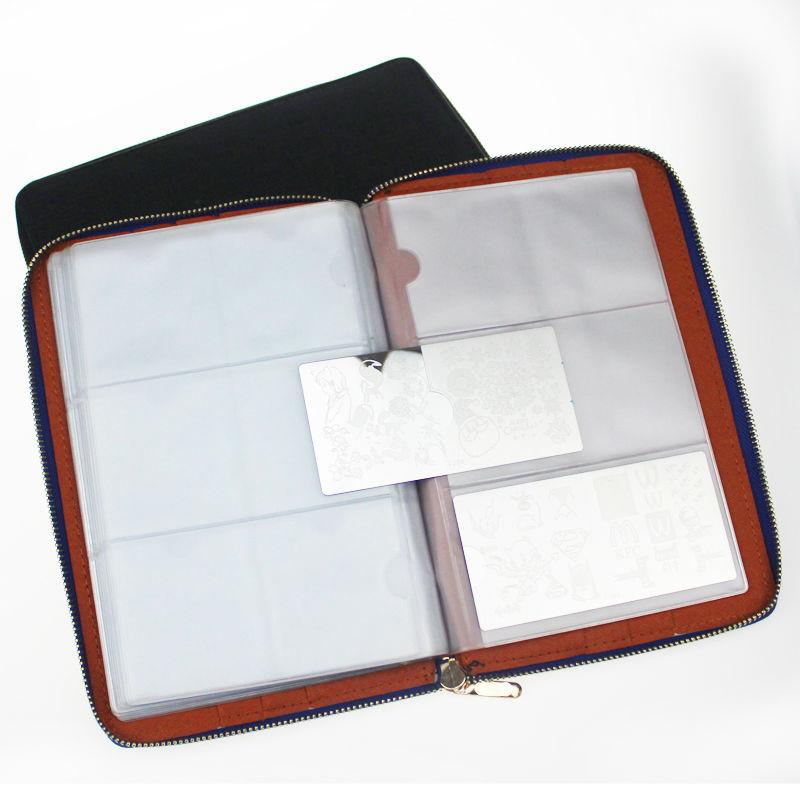 Informatica Accessori Sl-8004 Black/Blue Hardboy CD Wallet-Holds 80 Cds