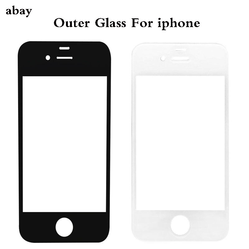 Good Quality Outer Glass For iphone 4 4s 6s 7 plus Front LCD Outer Glass Screen repair part image