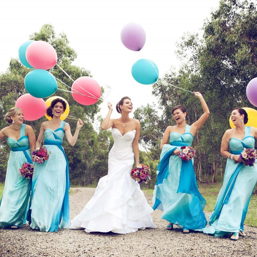 Rainbow bridesmaid dress for country style wedding one shoulder rainbow bridesmaid dress for country style wedding one shoulder sweetheart neckline pleat colorful chiffon long party dress in bridesmaid dresses from ombrellifo Choice Image