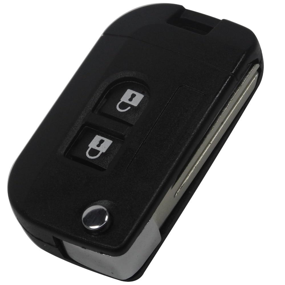 flip folding remote key shell car car case fob cover for qashqai qashqai nissan micra. Black Bedroom Furniture Sets. Home Design Ideas