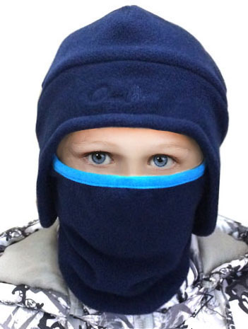 Famous Boys Gilrs Kids Balaclava Mask Kids Ski Mask for Boys Two Double  VY98