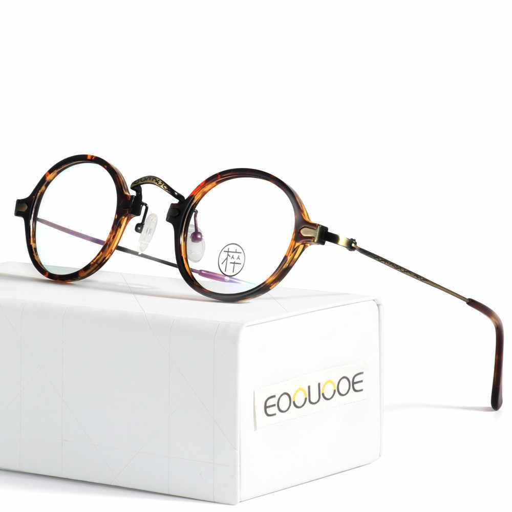 2aa9301d00 Hombres Mujeres ronda marco Gafas ópticas TR90 Gafas Oculos Monturas De Lentes  Hombre Gafas Opticas claro