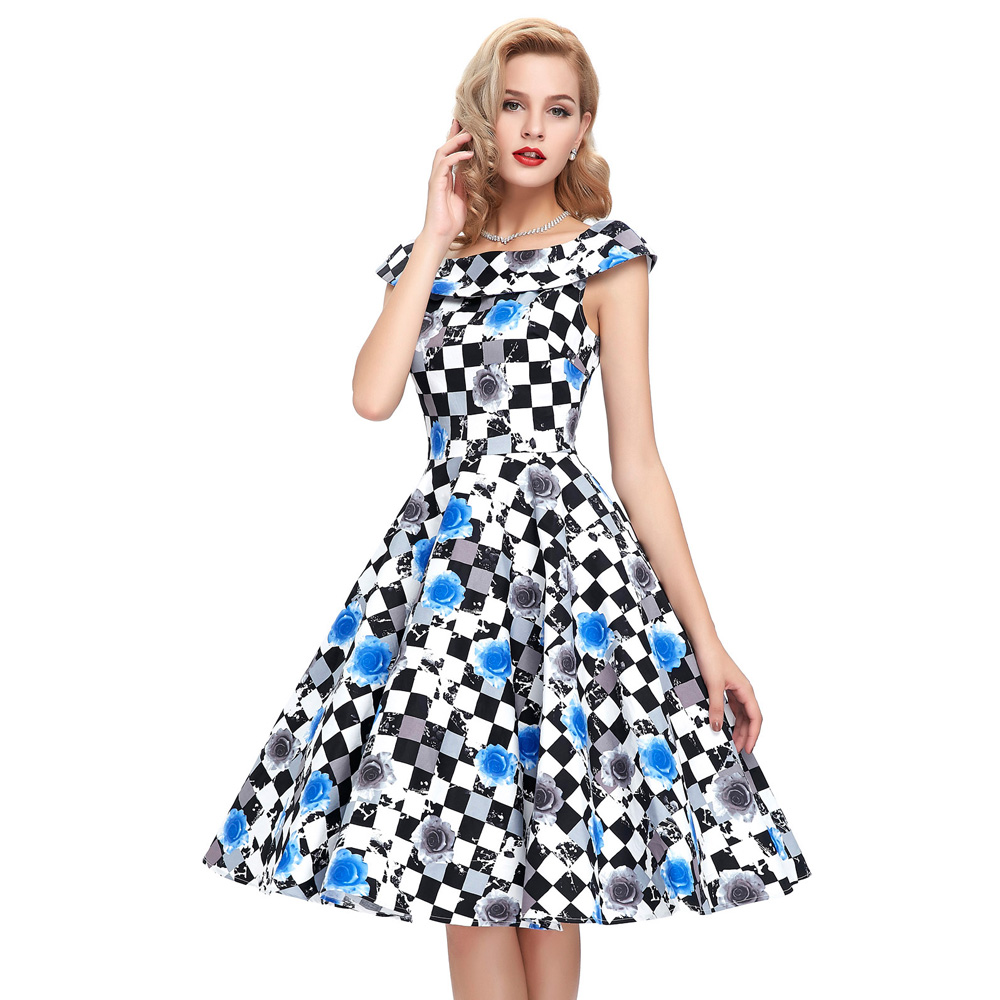 Compare Prices on Classic 50s Dresses- Online Shopping/Buy Low ...