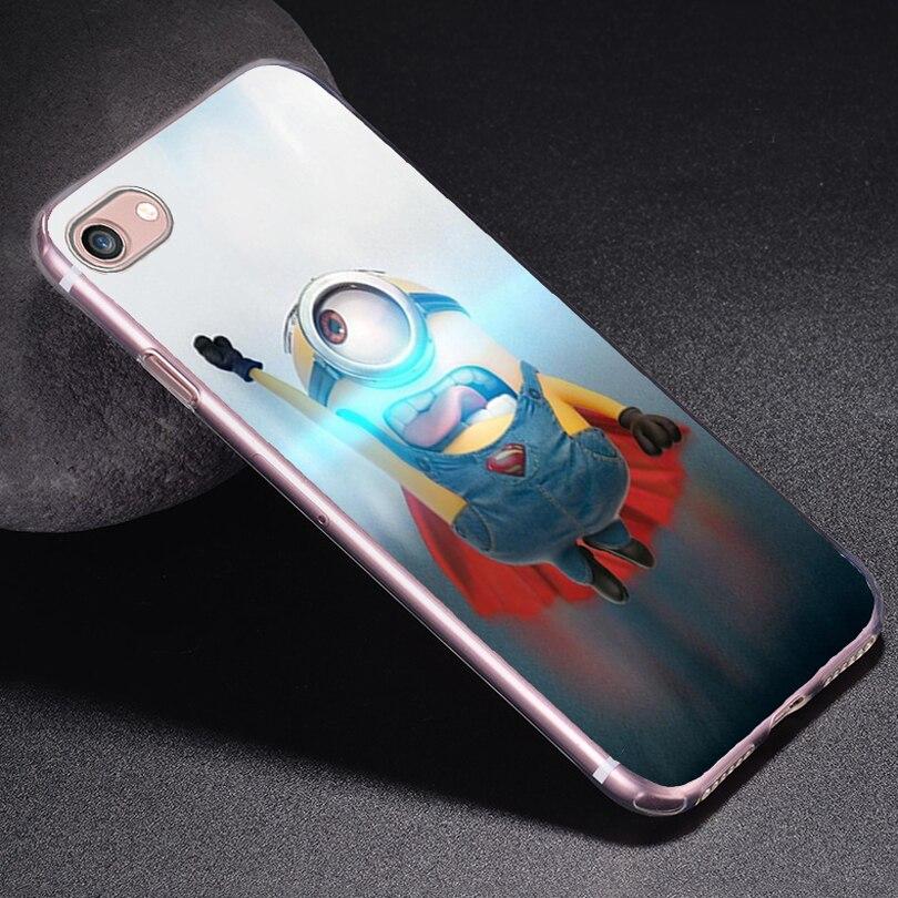 Для iPhone6s Мягкие TPU чехол для Apple iPhone 6/6 s Чехол телефон В виде ракушки Новое поступление Желтые Миньоны игры супермен очень приятно