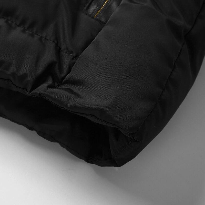 men\`s casual clothing fashion down jackets men leisure dress vests winter warm elegant korean streetwear trend coat vest for men (10)