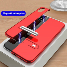 Magnetic Adsorption PC Kickstand Back Case Cover For iPhone X XS MAX 7 8 Plus 6S Fashion Case for iPhone XR 8 8Plus 6 6S Plus new iphone case for iphone 11 for iphone11 pro max 5 8 inches 6 1 inches 6 8 inches 6 6s 7 8 plus ix xr max x fashion back cover