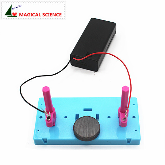 Wholesale Fun Physics Experiment Homemade Motor Diy Material For Child School Students #4