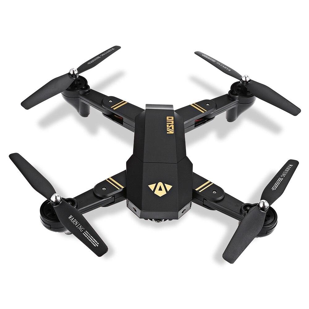Selfie Drone Con La Macchina Fotografica Xs809 Xs809w Fpv Dron Rc Drone Rc Elicottero di Telecomando del Giocattolo Per I Bambini Xs809hw Pieghevole Drone ^