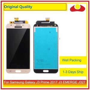 "Image 2 - Pantalla LCD Original de 5,0 ""para Samsung Galaxy J3 Prime 2017 J3 EMERGE J327 con Panel digitalizador de Pantalla táctil completa"