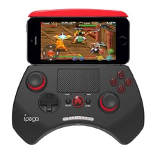 iPega PG-9028 wireless bluetooth game controller joystick gaming vendedor with touchpad For iPhone& iPad Android PC K5