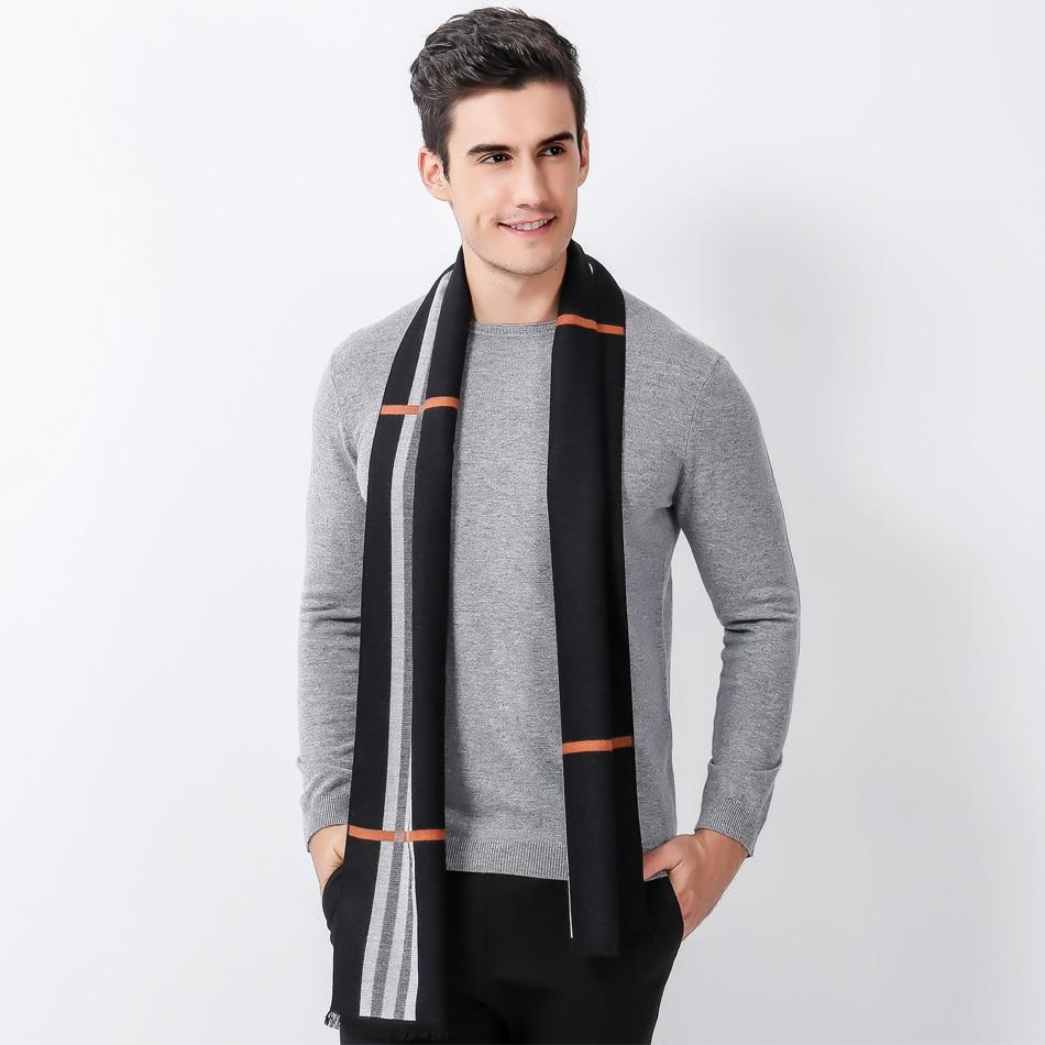 Aliexpress.com  Comprar Bufandas hombres bufanda Pashmina mantón de la  Cachemira ocasional de calidad superior para Hombre Ropa Accesorios ropa  Invierno ... 36608040c56