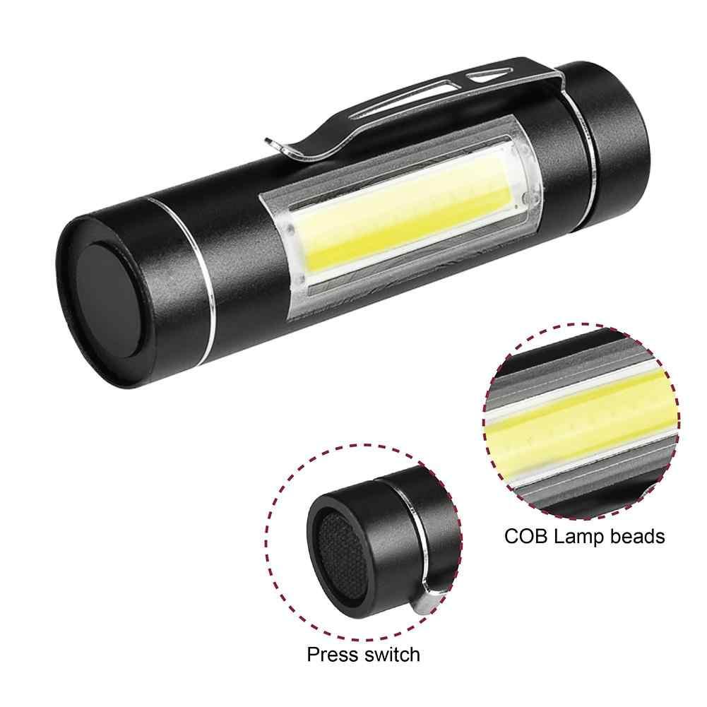 Mini Taschenlampe 5000 Lumen 1 Modus Taschenlampe Clip Taschenlampe Außen Beleuchtung