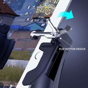 Image 3 - PUBG Tablet Gamepad בקר טריגר ג ויסטיק עבור iPad אוניברסלי L1R1 Shooter כפתור אחיזה עם מנעול מתכווננת החלקה Joypad