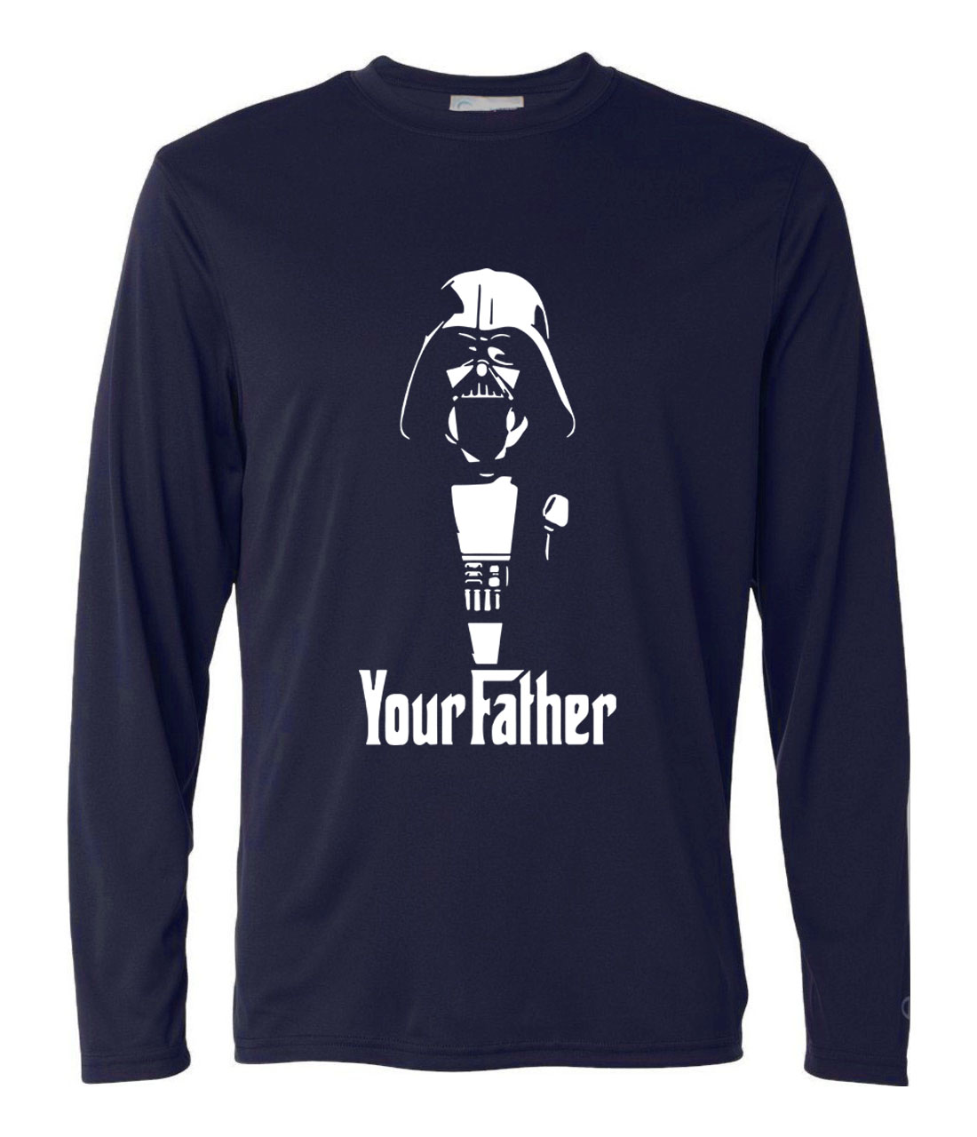 Funny new arrival  hip-hop t-shirt Men 2019 star wars printed long sleeve camisetas harajuku brand clothing homme