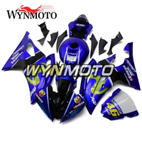 Complete Fairings Kit For Yamaha R6 2008 2016 08 Year Injection ABS Plastics Frames Full Cover Cowling Blue Black Motorcycle