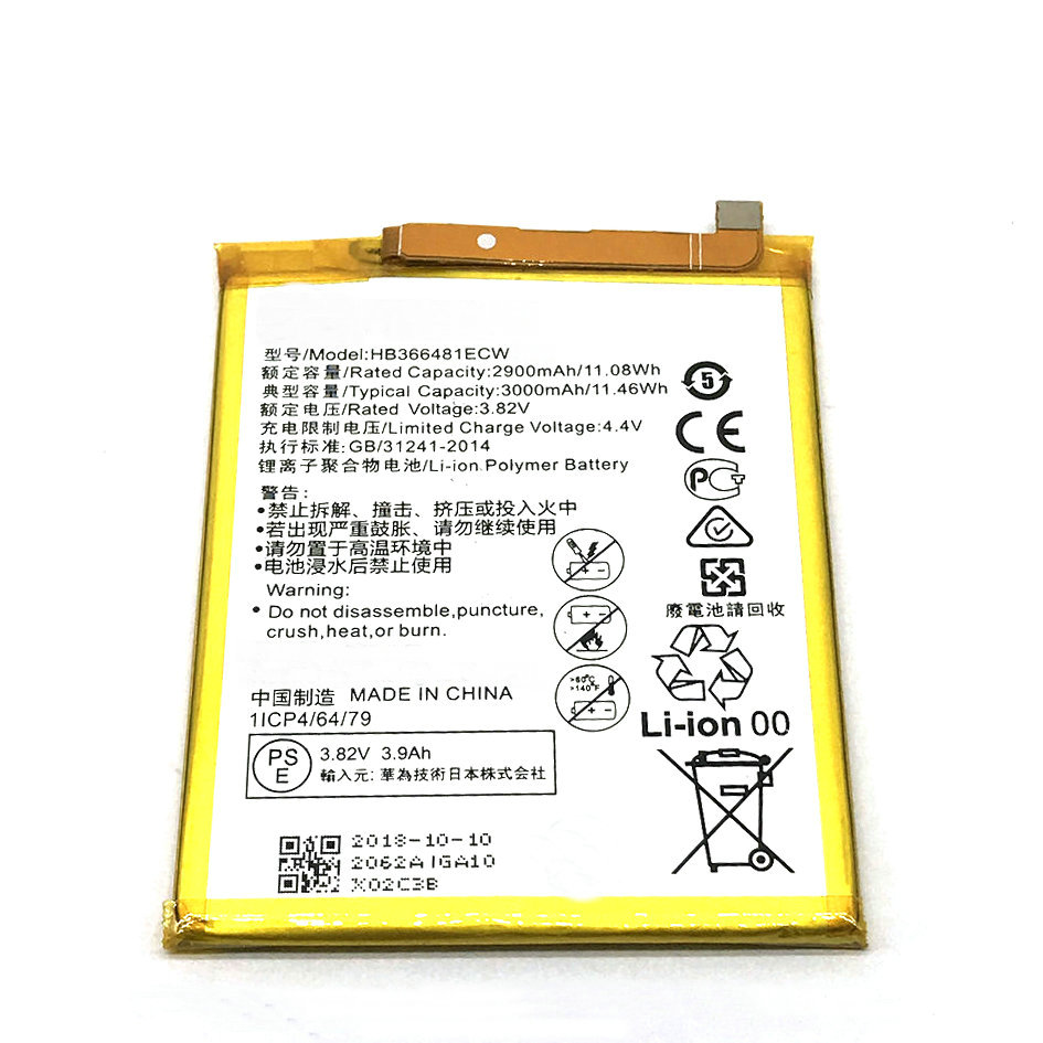 1 piezas HB366481ECW batería para Huawei P9 Ascend P9 Lite G9 honor 8 5C 7A pro G9 VNS-DL00 ENV P10 Lite WAS-L03T WAS-LX2J LX1