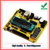 Free Shipping 2pcs ZK 1 51 AVR Microcontroller System Board USB Download Program Development Board Tutorial