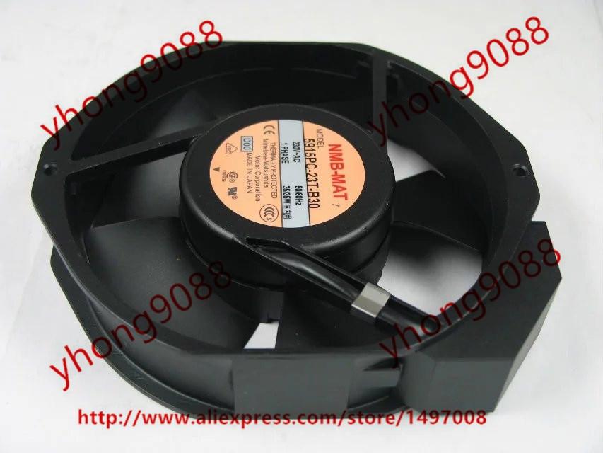 все цены на NMB 5915PC-23T-B30 D00 AC 230V 35W 172x150x38mm Server Round Cooling fan онлайн