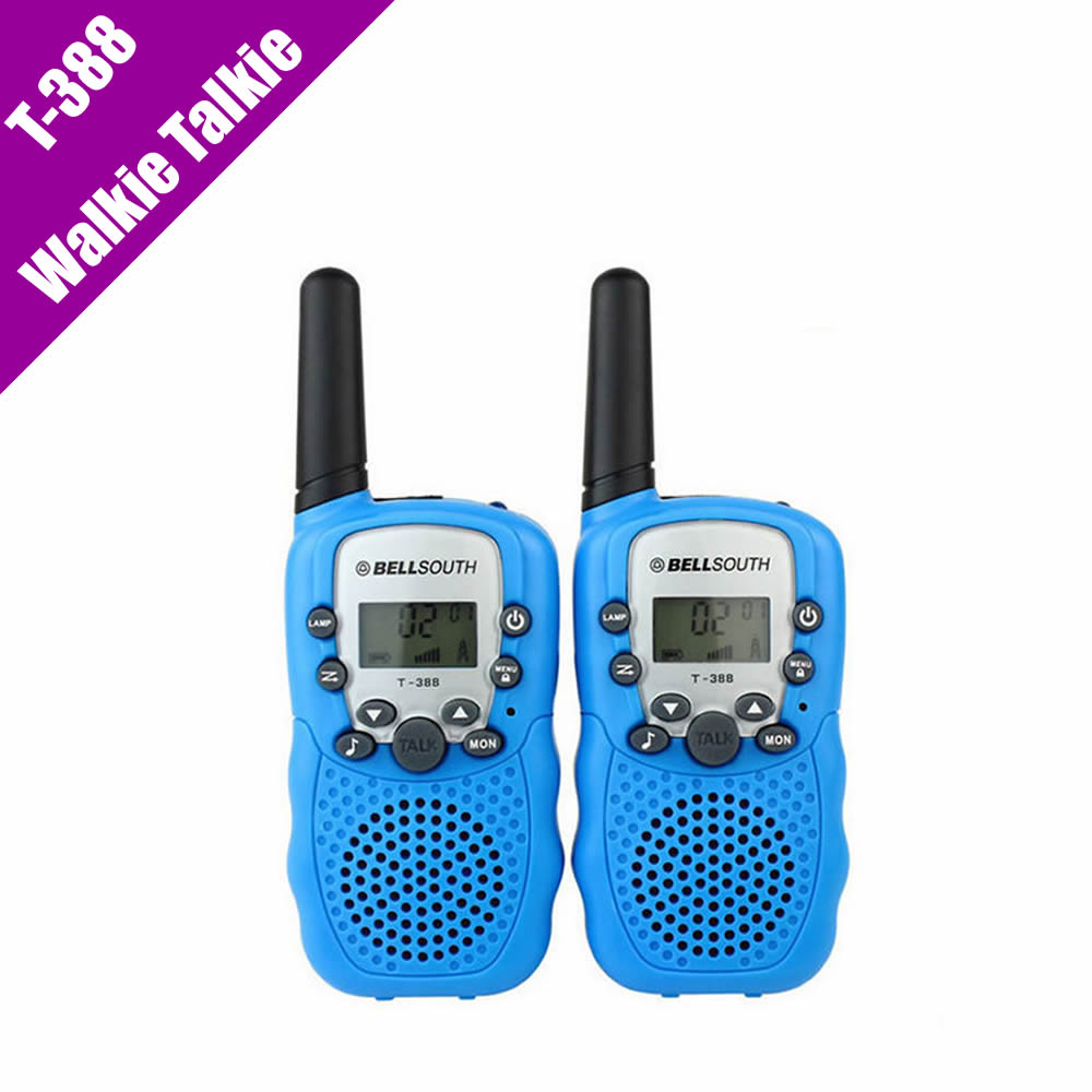 T 388 Mini Walkie Talkie UHF 462 550 467 7125MHz 0 5W 22CH For Kid Children