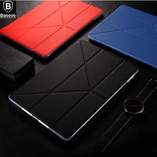 BASEUS Brand Simplism Y Type 4 Ways Standing Tablet pu Leather Case For Apple iPad Pro