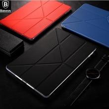 BASEUS Marke Simplism Y-Typ 4 Möglichkeiten Stehen Tablet pu-leder fall Für Apple iPad Pro 10,5 zoll 2017 Multifunktions Smart abdeckung