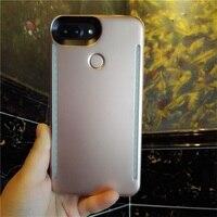 Selfie LEVOU Flash de Luz Caso Capa Para o iphone 6 6 s 7 8 Plus 4.7