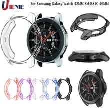 Case Shell Voor Samsung Galaxy Horloge 42 Mm SM R810 46 Mm Gear S3 Frontier Tpu Protector Frame Smartwatch Cover Beschermende shell