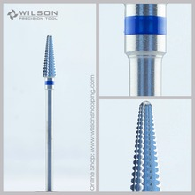 Straight Edge dengan Spiral Cut - Tungsten Carbide Dental Lab Burs - Standard (5001202) - ISO 176