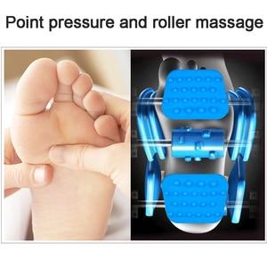 Image 5 - ¡Caliente! Máquina Eléctrica de masaje muscular Shiatsu, rodillos terapéuticos para el cuidado de la salud, antiestrés, calor, regalo para el día de la madre